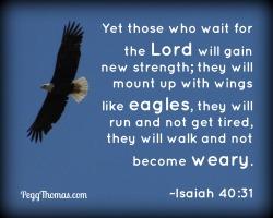 8x10 Isaiah 40-31
