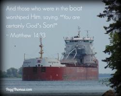 8x10 Matthew 14-33