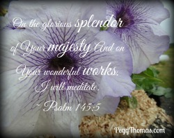 8x10 Psalm 145-5