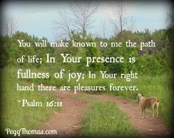 8x10 Psalm 16-11
