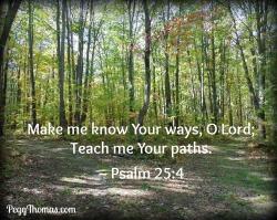 8x10 Psalm 25-4
