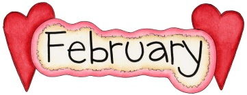 Image result for february word image